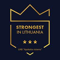 UAB Apskaita visiems SL (EN) logotipas